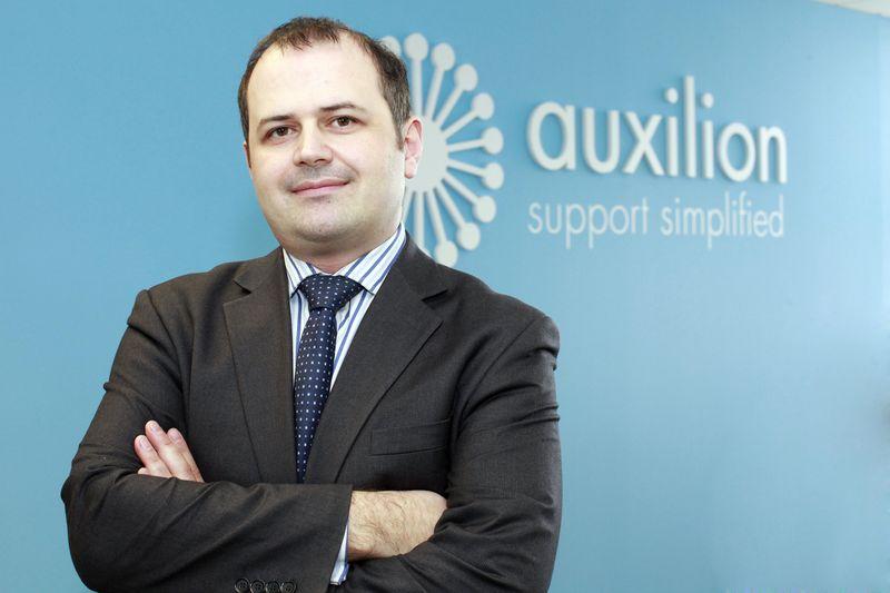 Mark O'Loughlin, head of cloud advisory and consulting, Auxilion. 1